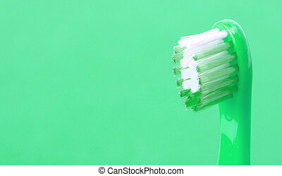 Dental care toothbrush isolated
