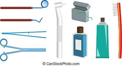 Dental care vector illlustation