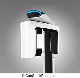 Dental CBCT with blue light - Stylish dental CBCT with blue...