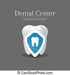 Dental center logotype design