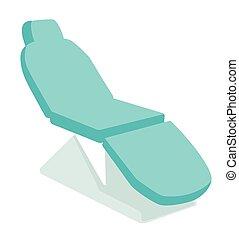 Dental chair vector cartoon illustration. - Dental chair....