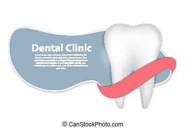 Dental Clinic Icon Vector Illustration