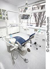 Dental clinic interior