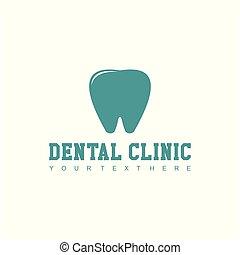 Dental Clinic Logo Vector Template Design