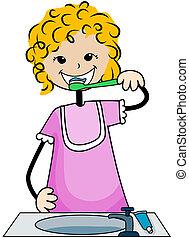 dental, criança