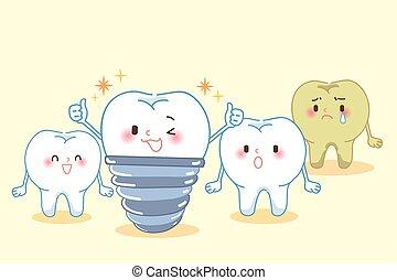dental, cuidado dente