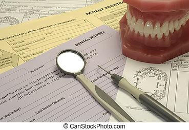 dental, formas