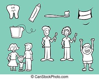 Dental Health Icons