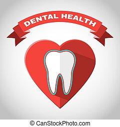 Dental Health Vector Flyer Illustration