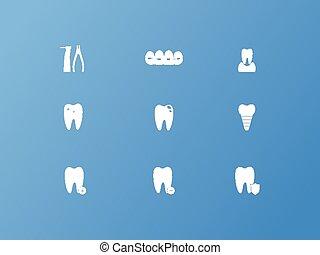 dental, iconos