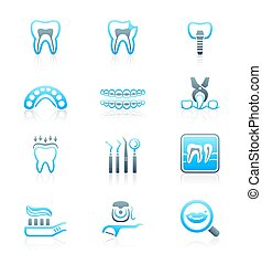 Dental icons    MARINE series