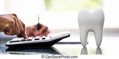 Dental Insurance Bill. Dentist Money