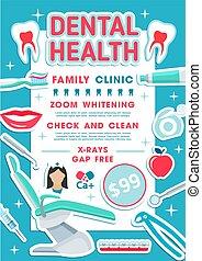 dental, klinik, gesundheit, zahntechnik, design, banner