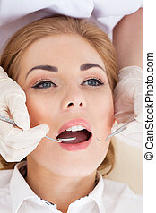 dental, kontrolle