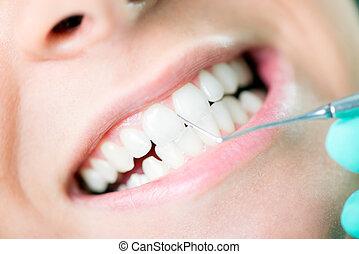 dental, limpieza