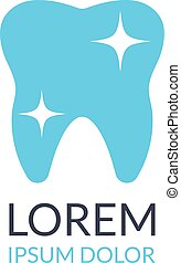 Dental logo. Dental clinic logo