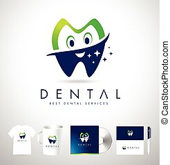 Dental Logo Design Corporate Identiy.