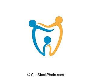 Dental logo template