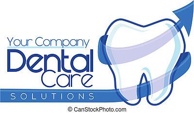 dental, logotype, design