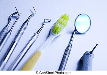 Dental medicine - Dental tools and equipment