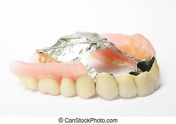 Dental prosthesis, dentures porcelain - Dental prosthesis,...