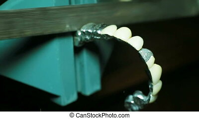 Dental prosthesis - The process of making dental prosthesis....