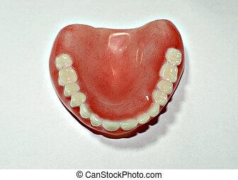Dental removable prosthesis .