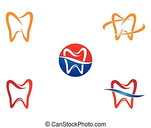 Dental symbol illustration