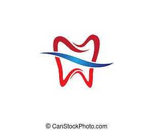 Dental symbol illustration - Dental logo Template vector...