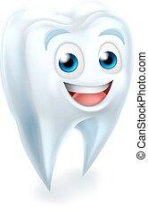dental, tand, maskot