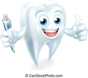 Dental Tooth Mascot
