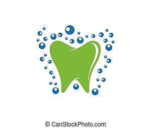 Dental vector icon illustration design