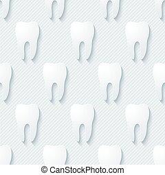 Dental walpaper.