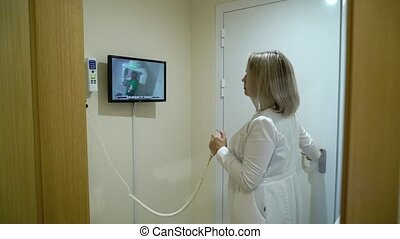 Dental X-Ray Scanner and Patient - Dental X-Ray Scanner and...