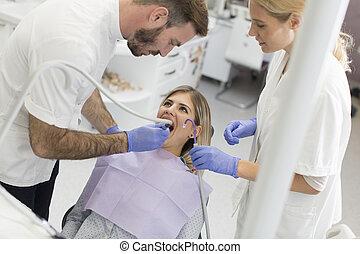 dentale, checkup