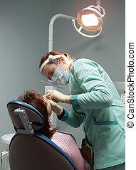 dentale chirurgie, buero