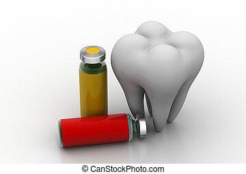dentale, concetto, salute