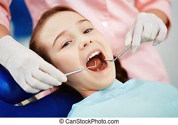 dentale, ispezione