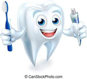 dentale, mascot
