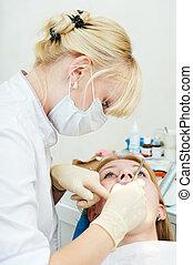dentale, medicinsk behandling