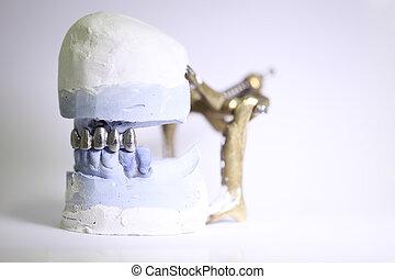 dentale, oggetti, dentista