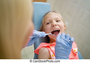 dentaler besuch, zuerst