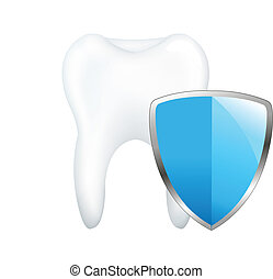 dente, com, tábua