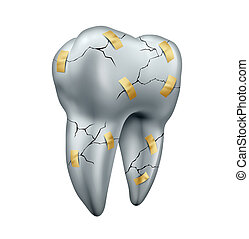 dente, reparar