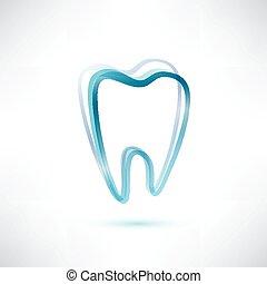 dente, símbolo