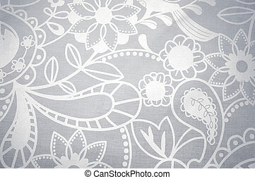 dentelle, papier peint, texture, fond, blanc, ou