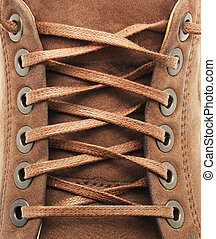 dentelle, texture, chaussure