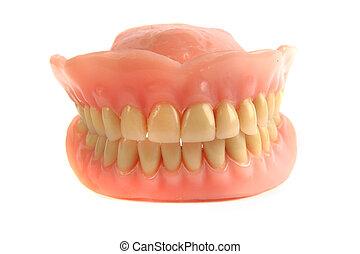 dentes agradáveis, prótese