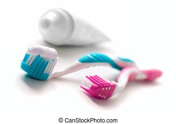 dentifrice, brosses dents