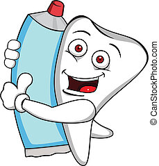 dentifricio, dente